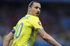 UEFA EURO 2016: Sweden v Belgium Royalty Free Stock Image