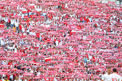 UEFA EURO 2016: Ukraine v Poland Royalty Free Stock Image