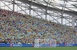 UEFA EURO 2016: Ukraine v Poland Stock Photo