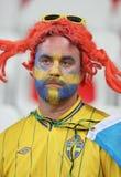 UEFA-EURO 2016: Zweden v België Stock Foto's