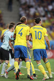 UEFA-EURO 2016: Zweden v België Stock Foto