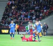 UEFA Europa League Final game Dnipro vs Sevilla Stock Photography