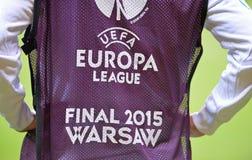 UEFA Europa League 2015 Final: Training session Royalty Free Stock Image