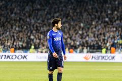 UEFA Europa League football match Dynamo Kyiv – Lazio, March 1 stock image