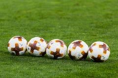 UEFA Europa League football match Dynamo Kyiv – Skenderbeu, Se royalty free stock photos