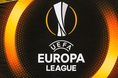 UEFA Europa League football match Dynamo Kyiv – Skenderbeu, Se stock photo
