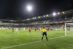 UEFA Europa League game between Qabala and PAOK, in Baku, Azerba Royalty Free Stock Images
