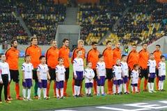 UEFA Europa League game Shakhtar Donetsk vs Anderlecht Stock Photos