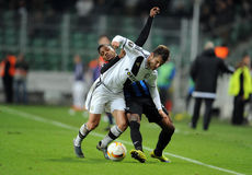 UEFA Europa League group stage Legia Warsaw Club Brugge Stock Image