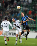 UEFA Europa League group stage Legia Warsaw Club Brugge Stock Photo