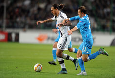 UEFA Europa League Legia Warsaw SSC Napoli Stock Photo