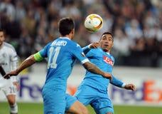 UEFA Europa League Legia Warsaw SSC Napoli Royalty Free Stock Photo