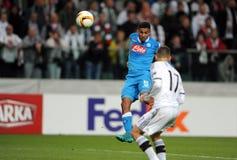 UEFA Europa League Legia Warsaw SSC Napoli Stock Photo