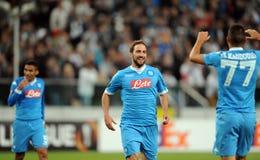 UEFA Europa League Legia Warsaw SSC Napoli Stock Images
