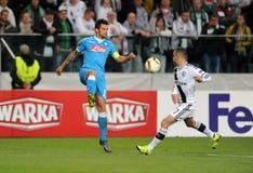 UEFA Europa League Legia Warsaw SSC Napoli Royalty Free Stock Images