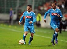 UEFA Europa League Legia Warsaw SSC Napoli Royalty Free Stock Photos