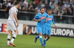 UEFA Europa League Legia Warsaw SSC Napoli Stock Photography