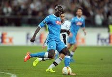 UEFA Europa League Legia Warsaw SSC Napoli Royalty Free Stock Image