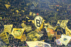 UEFA Europa League match between Borussia Dortmund vs PAOK Royalty Free Stock Image