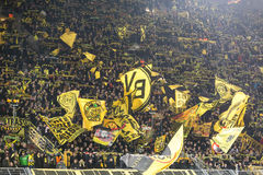 UEFA Europa League match between Borussia Dortmund vs PAOK Stock Photography