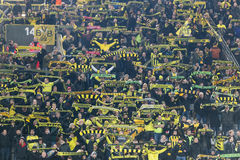 UEFA Europa League match between Borussia Dortmund vs PAOK Royalty Free Stock Photo