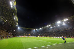 UEFA Europa League match between Borussia Dortmund vs PAOK Royalty Free Stock Photos