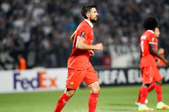 UEFA Europa League match between PAOK vs ACF Fiorentina Stock Images