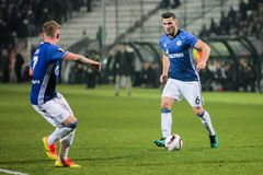 UEFA Europa League match between PAOK vs Schalke played at Toumb Royalty Free Stock Photography