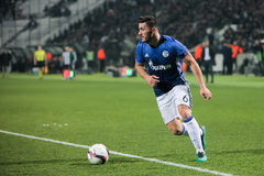 UEFA Europa League match between PAOK vs Schalke played at Toumb Stock Image