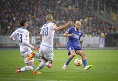 UEFA Europa League semifinal game Dnipro vs Napoli Royalty Free Stock Photo