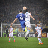 UEFA Europa League semifinal game Dnipro vs Napoli Stock Photography