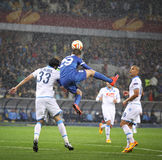 UEFA Europa League semifinal game Dnipro vs Napoli Royalty Free Stock Photography