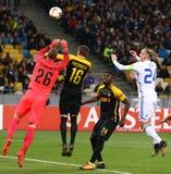 UEFA-Europa-Liga: FC Dynamo Kyiv V Young Boys lizenzfreies stockbild