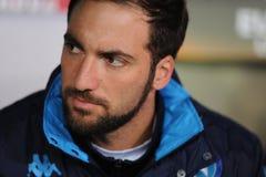 UEFA Europa liga Legia Warszawski SSC Napoli Obrazy Stock