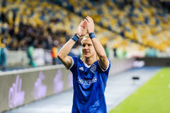 "UEFA-Europa-Ligafußballspiel Dynamo Kyiv-†""Maritimo, Augu lizenzfreies stockfoto"