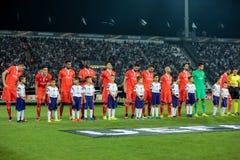 UEFA-Europa-Ligaspiel zwischen PAOK gegen ACF Fiorentina Stockfoto