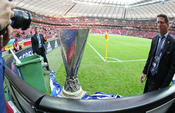 UEFA Europe Laegue Trophy (Cup) Royalty Free Stock Photos