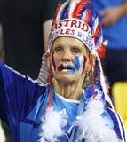 UEFA-EUROspiel 2012 Schweden gegen Frankreich Lizenzfreies Stockbild