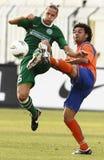 uefa för match för liga för aalesund europaferencvaros vs Royaltyfria Bilder