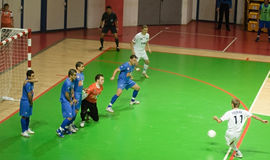 UEFA Futsal Cup 2008-2009 Royalty Free Stock Photo