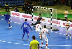 UEFA Futsal euro 2018 kwalifikacyjnych turniejów w Kyiv Obrazy Royalty Free
