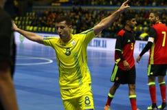UEFA Futsal euro 2018 kwalifikacyjnych turniejów w Kyiv Zdjęcia Royalty Free