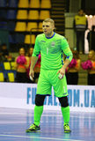 UEFA Futsal Euro 2018 qualifying tournament in Kyiv Royalty Free Stock Photography