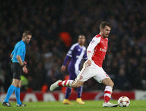UEFA-Meister-Liga-Arsenal V Anderlecht Stockfoto