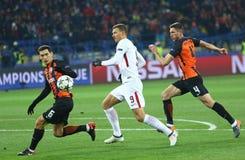 UEFA-Meister-Liga: Shakhtar Donetsk V Rom stockbild