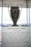 UEFA-Meister-Liga-Trophäe Lizenzfreies Stockfoto