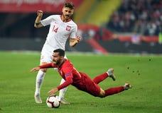 UEFA Nations League Poland - Portugal stock photos