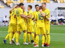 UEFA Nations League: Ukraine - Slovakia royalty free stock photos
