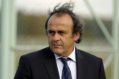 UEFA Präsident Michel Platini Lizenzfreies Stockbild