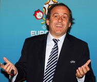 UEFA President Michel Platini Stock Photography
